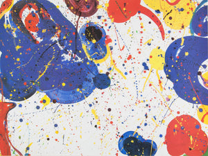 Sam Francis 'Blue, Red and Yellow'