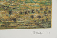 Load image into Gallery viewer, David Frazer 'On The Edge of Town (By Day)' - etching on paper