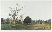 David Frazer 'On The Edge of Town (By Day)' - etching on paper