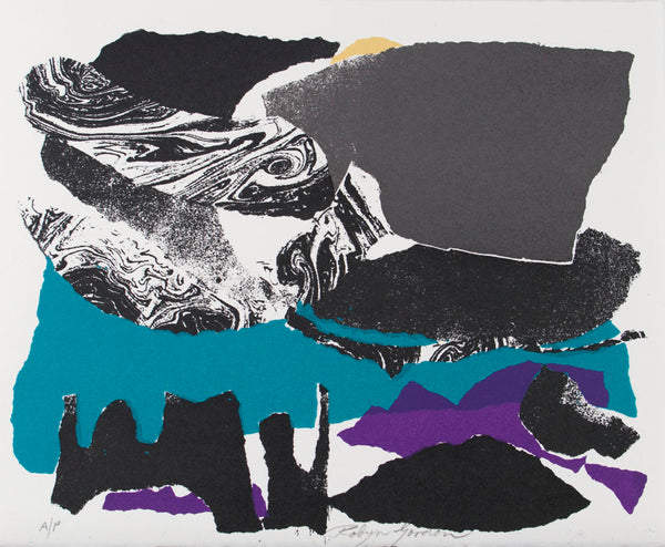 Robyn Gordon 'Untitled (Ocean and Rock)'