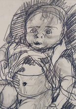 Load image into Gallery viewer, John Perceval 'Tessa' - original drawing