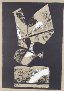 Franz Kempf 'Icon 1' - lithograph on paper