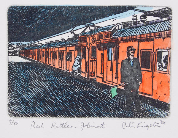 Peter Kingston 'Red Rattler - Jolimont'