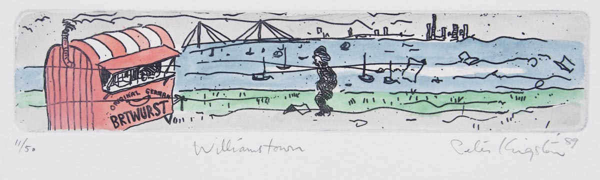 Peter Kingston 'Williamstown'