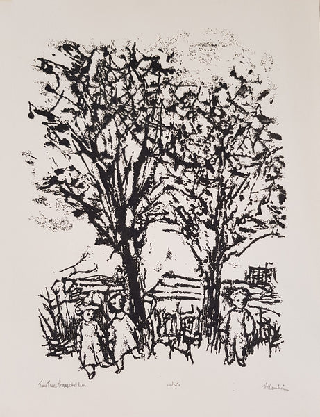 Frank KLEINHOLZ 'Two Trees and Three Children'