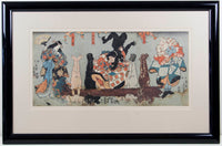 Utagawa Kunisada 'Untitled (The Trapping of Mythical Monsters)'