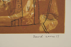 David Larwill 'Untitled' - etching on paper