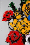 Philippe Le Miere 'After Margaret Preston prints - Anemones painting'