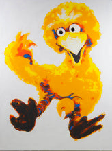 Load image into Gallery viewer, Philippe Le Miere 'Big Bird goes back to the Sesame Street Future'