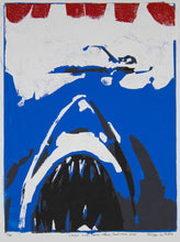 Load image into Gallery viewer, Philippe Le Miere 'Classic Cult Horror Attack Shark Movie Jaws'
