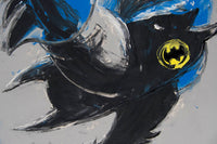 Philippe Le Miere 'Man-bat' - batman dark knight painting art