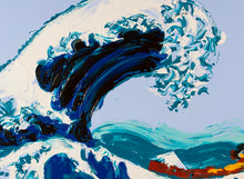 Load image into Gallery viewer, Philippe Le Miere 'Of Wave Kanagawa Great Japanese Hokusai' painting