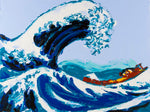 Philippe Le Miere 'Of Wave Kanagawa Great Japanese Hokusai'