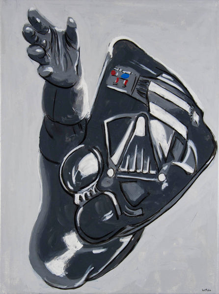 Philippe Le Miere 'Vaderdarth' - star wars darth vader painting art