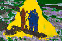 Philippe Le Miere 'wizard of oz classic hollywood movie painting'