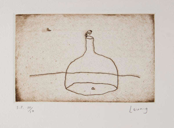 Michael Leunig 'Bottle and Heart' - MOTIVATED VENDOR