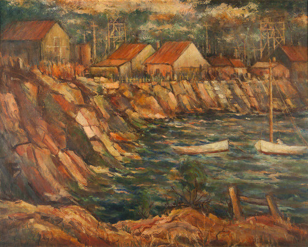 Lionel Jago 'Rocky Bay, Fremantle'