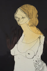 Anthony Lister 'Bold Lass' - Etching acquatint