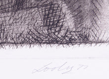 Load image into Gallery viewer, Keith Looby '5th class' - etching on paper