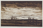 Jeffrey Makin 'Barrington Pastoral' - Etching on paper
