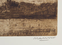 Load image into Gallery viewer, Jeffrey Makin 'Calstock II' - Etching on paper