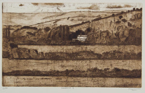 Jeffrey Makin 'Calstock II' - Etching on paper
