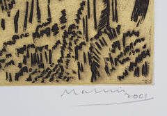 Jeffrey Makin 'Cape Schanck' - Etching on paper