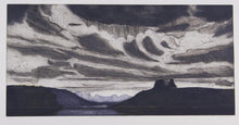 Load image into Gallery viewer, Jeffrey Makin 'Lake St Clair, Tasmania' - Etching on paper