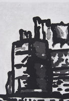 Jeffrey Makin 'Tantallon Castle' - Etching on paper