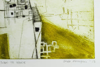 Greg Mallyon 'Dubai to Venice' - Etching