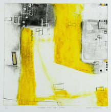 Load image into Gallery viewer, Greg Mallyon 'Villages over Abu Dhabi' - Etching.