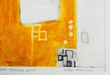 Load image into Gallery viewer, Greg Mallyon 'Villages over Persian Gulf' - Etching