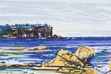 Load image into Gallery viewer, Greg Mallyon 'North Head Sydney' - screenprint on paper