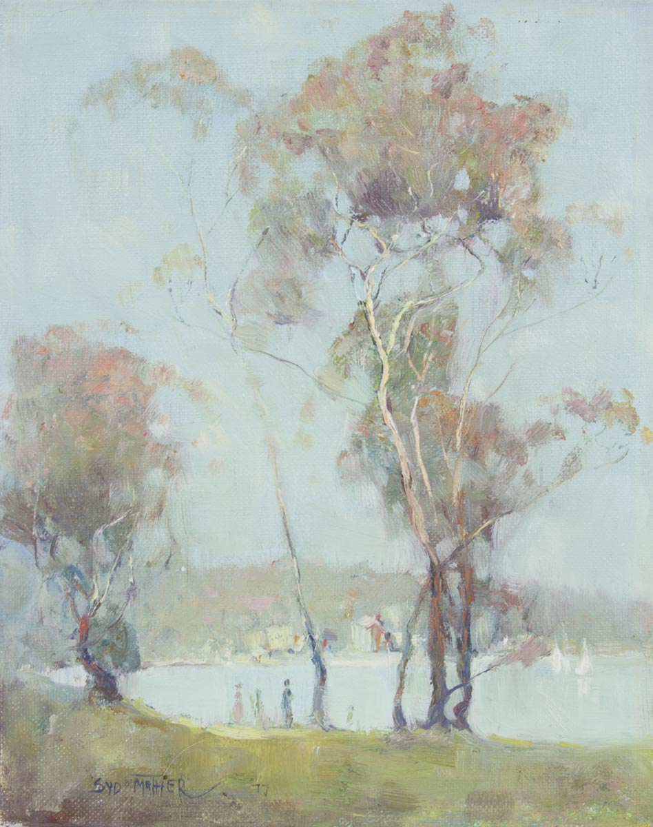 Sydney Mather 'Tranquil Day - Near Merimbula'