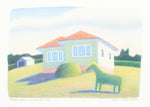 Reg Mombassa 'Hedge-horse and House (N.S.W)'