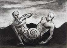 Load image into Gallery viewer, Kevin Mortensen 'Untitled (Two Figures and a Shell)'