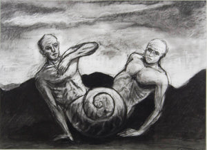 Kevin Mortensen 'Untitled (Two Figures and a Shell)'