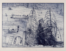 Load image into Gallery viewer, John Olsen 'Foggy Morning'
