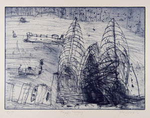 John Olsen 'Foggy Morning'