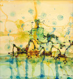 John Olsen 'Morning at the Lily Pond' *ALMOST SOLD OUT* limited edition archival pigment print hand signed by the artist