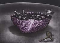 Graeme Peebles 'Cabbage Soup' - etching on paper
