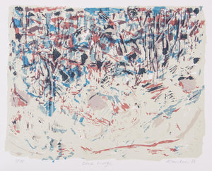 David Rankin 'Blue Ridge' - original screenprint on paper
