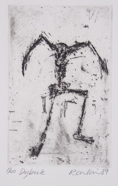 David Rankin 'Dybuk' - Etching on Paper