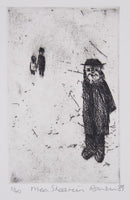 David Rankin 'Mea Shearim' - Etching on Paper