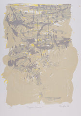 David Rankin 'Ragged Scrub I' - screenprint on paper