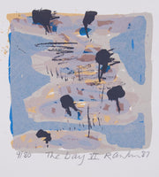 David Rankin 'The Bay VI' - screenprint on paper