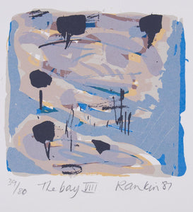 David Rankin 'The Bay VIII' - screenprint on paper