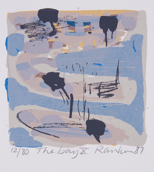 David Rankin 'The Bay X' - screenprint on paper
