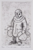 David Rankin 'The Buba' - Etching on Paper