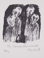 David Rankin 'The Sonder Kommando' - Lithograph on Paper